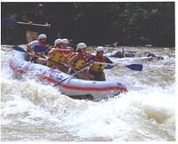 Whitewater rafting on the Ocoee.