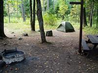 ok, so we didn't camp at Gratiot Lake - just to let you know, you can't camp there either
