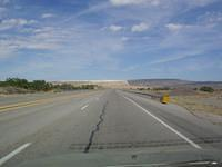 Heading towards Jemez Springs.