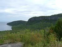 Scenic overlook in Grand Portage, MN