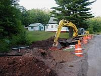 Water Line Project