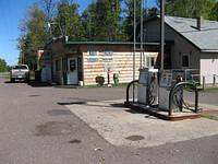 Store about 2 miles from Gogebic State Park.